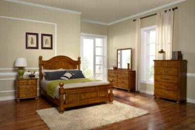 New Classic Cumberland 4-Piece King Bedroom Set