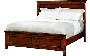 New Classic Tamarack Brown Cherry King Bed