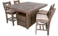 New Classic Tuscany Park 5-Piece Counter Dining Set