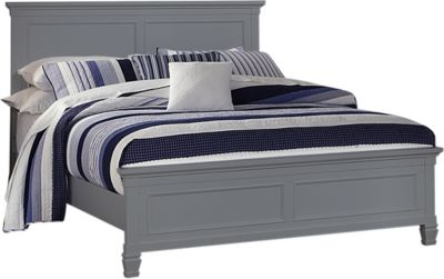 New Classic Tamarack Gray Queen Bed