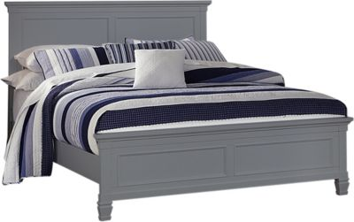 New Classic Tamarack Gray King Bed
