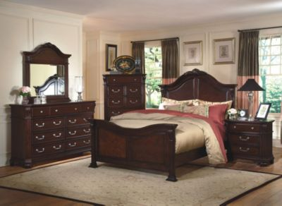 New Classic Emilie 4 Piece King Bedroom Set