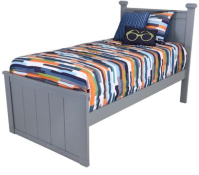 New Classic Taylor Gray Kids' Full Panel Bed