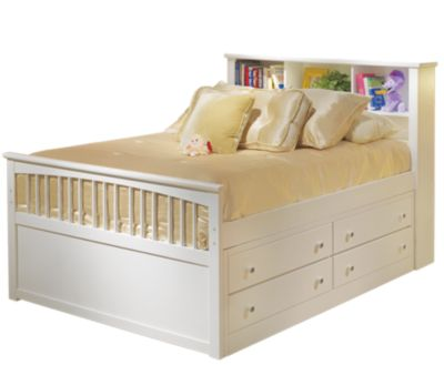New Classic Bayfront Twin Captain's Bed