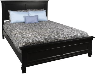 New Classic Tamarack Black Queen Bed