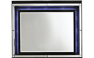 New Classic Valentino Black Lighted Mirror