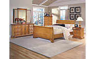 New Classic Honey Creek 4-Piece King Sleigh Bedroom Set