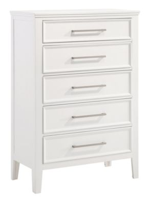 New Classic Andover White Chest
