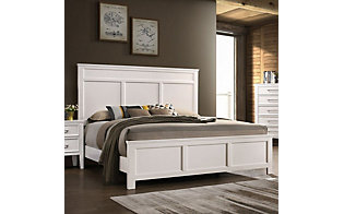New Classic Andover White Queen Bed