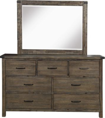 New Classic Galleon Dresser with Mirror