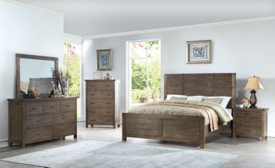 New Classic Galleon 4-Piece King Bedroom Set