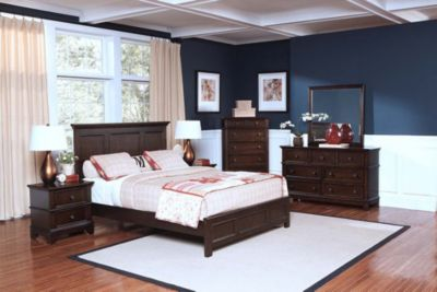 New Classic Prescott 4-Piece King Bedroom Set