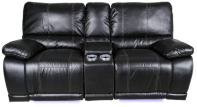 New Classic Electra Reclining Loveseat with Console