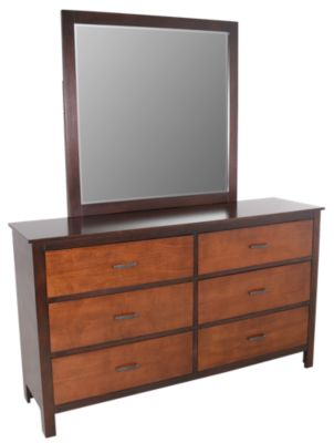New Classic Bishop Dresser with Mirror