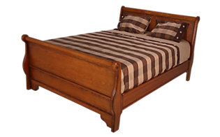 New Classic Honey Creek King Sleigh Bed