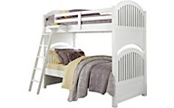 Ne Bedroom Lake House White Twin/Twin Bunk Bed
