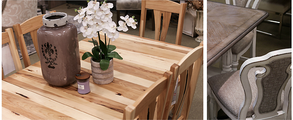 Dining Sets by A America Cattail & Liberty Magnolia