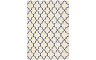 Nourison Amore Navy 5' X 8' Rug