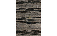 Nourison Amore Marble Shag 5' X 8' Rug
