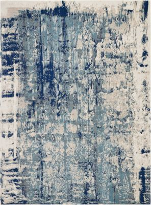 Nourison Maxell 8' X 11' Blue Rug