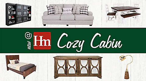 New @ Hm: Cozy Cabin Furniture