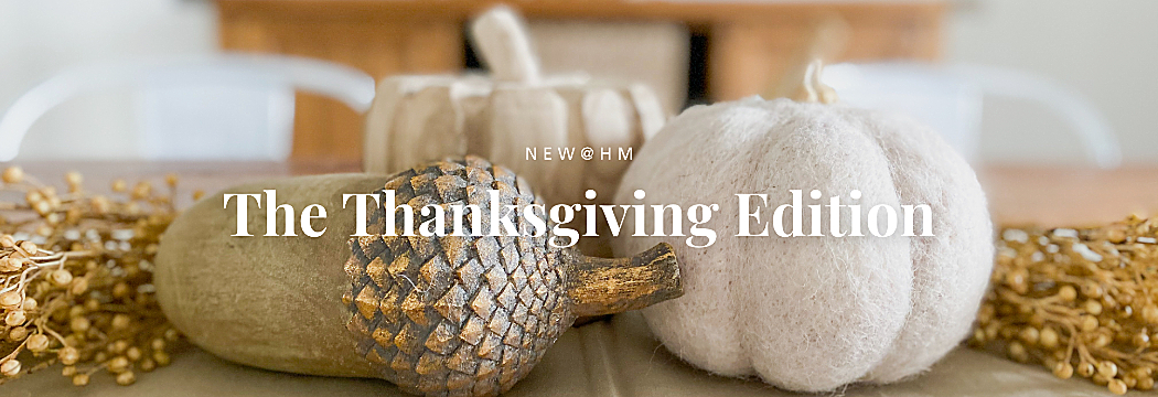 New at Hm: Thanksgiving Edition