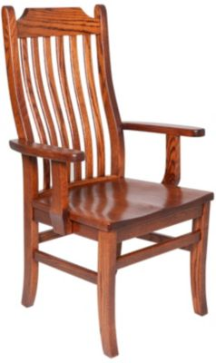 Oakwood Industries Mission Arm Chair