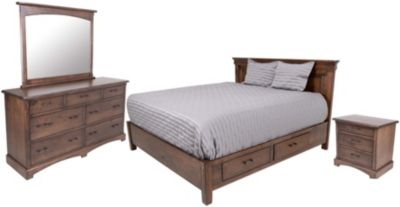 Oakwood Industries Character 4-Piece Queen Set