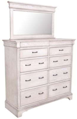 Oakwood Industries Edinburgh Dresser with Mirror