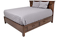 Oakwood Industries Character Cherry King Storage Bed