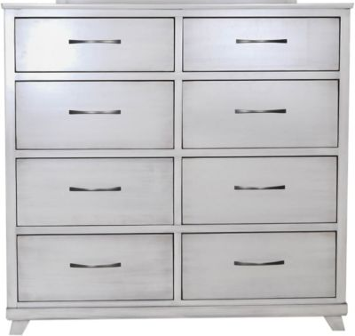Oakwood Industries Urbandale Silver Dresser