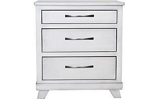 Oakwood Industries Urbandale Silver Nightstand