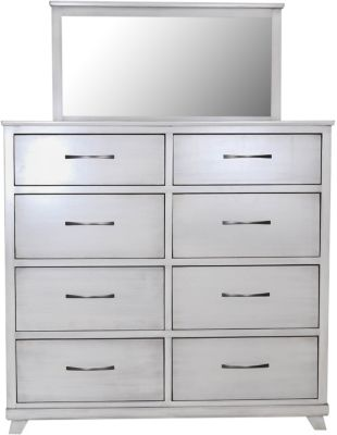 Oakwood Industries Urbandale Silver Dresser with Mirror