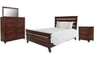 Oakwood Industries Urbandale Asbury Queen Bedroom Set