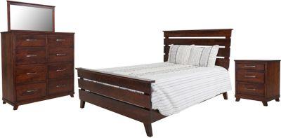 Oakwood Industries Urbandale Asbury King Bedroom Set Homemakers Furniture