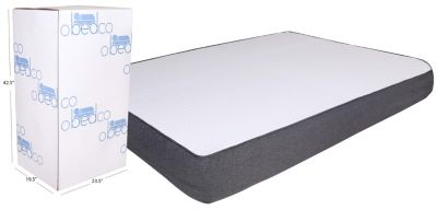 Omaha Bedding 8 In. Gel Memory Foam Mattress In A Box Collection