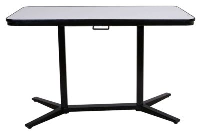 Office Star Pneumatic Sit/Stand Dry Erase Desk