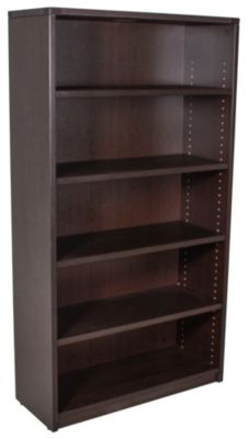 Office Star Napa 5-Shelf Tall Bookcase