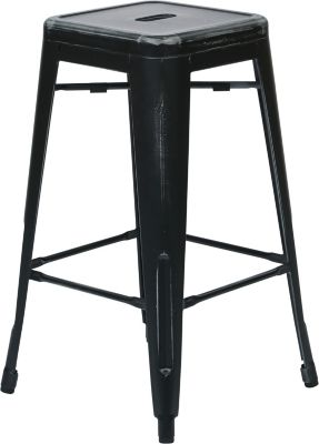 Office Star Bristow Black Counter Stool