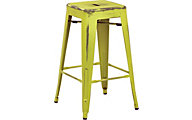 Office Star Bristow Lime Counter Stool