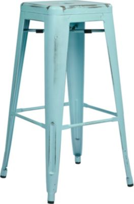Office Star Bristow Sky Blue Barstool