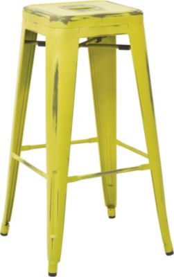 Office Star Bristow Lime Barstool