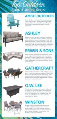 Best Outdoor Furniture Brands at Homemakers