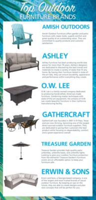 The 6 Best Outdoor Furniture Brands For Your Money Homemakers