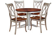 Palettes Adams Table & 4 Chairs