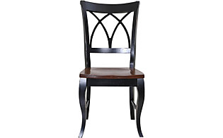 Palettes Black 2 Tone Side Chair
