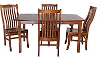 Palettes Boat Table Set 5-Piece Dining Set