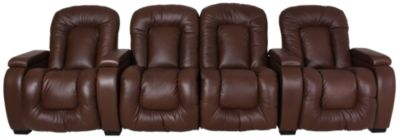 Palliser Rhumba Leather 3-Piece Power Home Theater Set