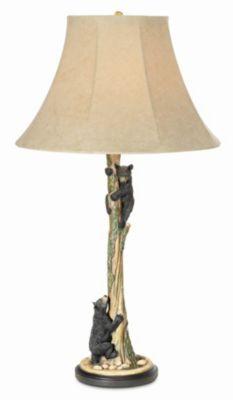 Pacific Coast Lighting Climbing Bears Table Lamp