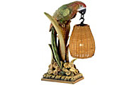 Pacific Coast Lighting Parrot Paradise Table Lamp